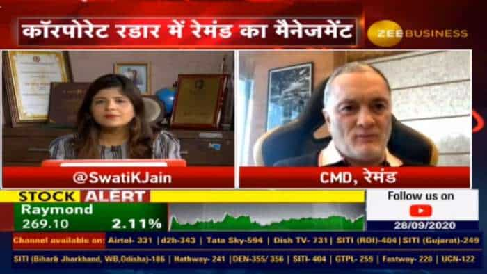 COVID has had a huge impact on the Economy of the country; we should learn to live with it: Gautam Singhania, Raymond