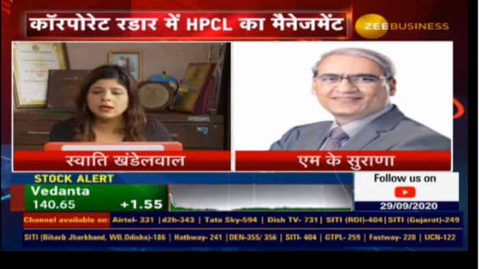 Fuel demand will be back to normal by next quarter: MK Surana, CMD, HPCL