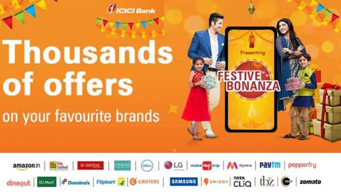 ICICI Bank Festive Bonanza LAUNCHED! Discounts, cashbacks, EMIs, loan offers and more - These TOP DEALS are up for grabs