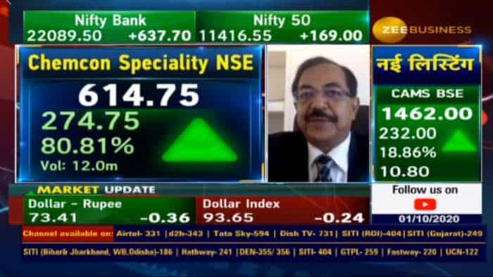 Chemcon Speciality has a target to increase its revenue by 20% in the next financial year: Kamal Kumar Aggarwal, CMD