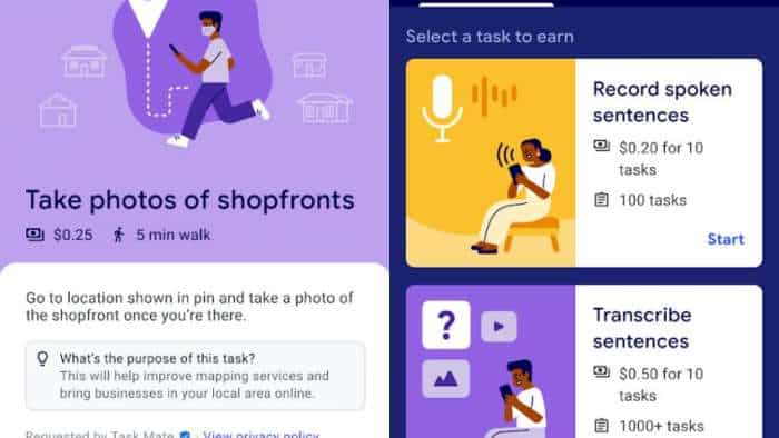 Google testing new app in India which lets users make money by doing simple tasks