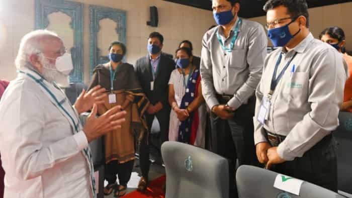 Covid-19 vaccine development: PM reaches Hyderabad to visit Bharat Biotech plant