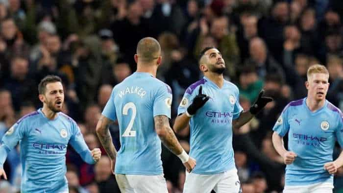 Double for Stones as Manchester City crush Crystal Palace to go second