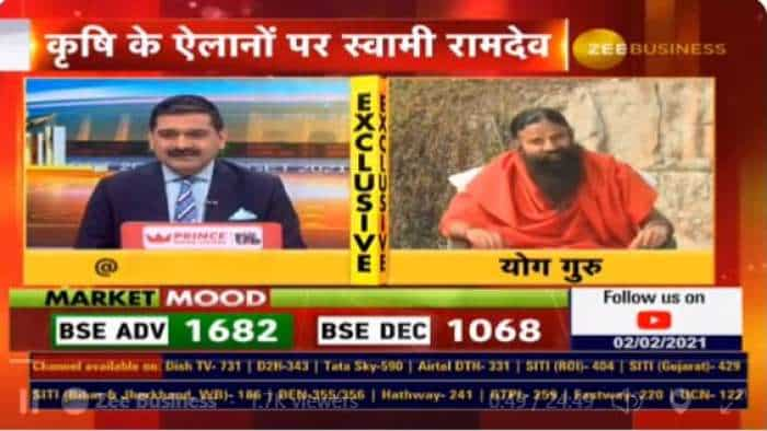 In exclusive chat with Anil Singhvi, Swami Ramdev reveals what he thinks about Budget 2021