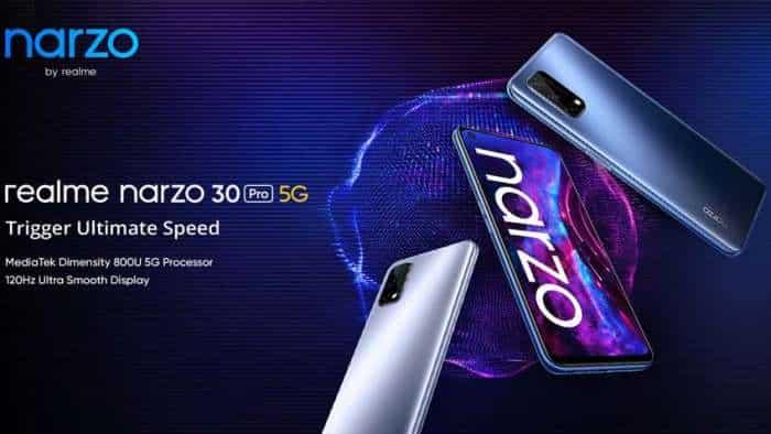 Realme Narzo 30A, Realme Narzo 30 Pro 5G launched in India - Check Price, Camera, Specs, Offers and more!