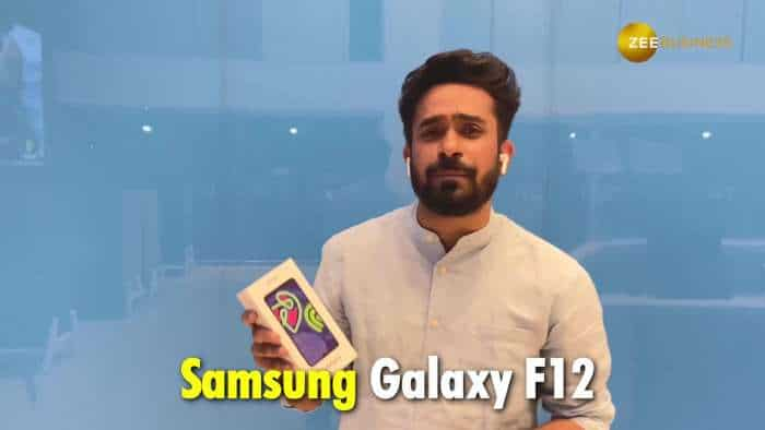 Samsung Galaxy F12: Unboxing and First Impression