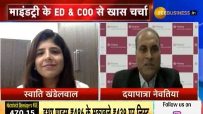 Mindtree's order book is very strong: Dayapatra Nevatia, ED & COO