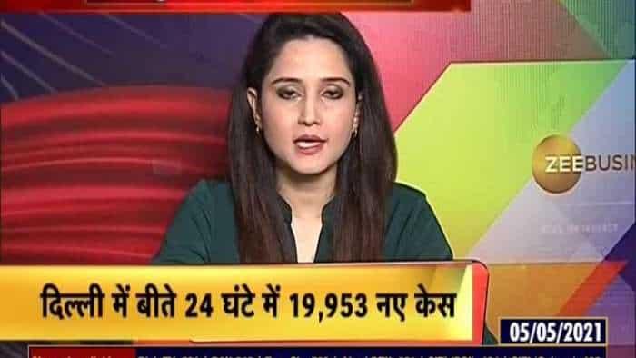 COVID-19 update: Delhi register 19,953 cases in last 24 hours