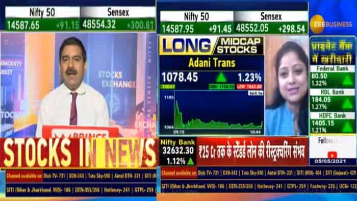 Mid-cap Picks with Anil Singhvi: Analyst Simi Bhaumik recommends Adani Transmission, Cyient, Century Ply for bumper returns