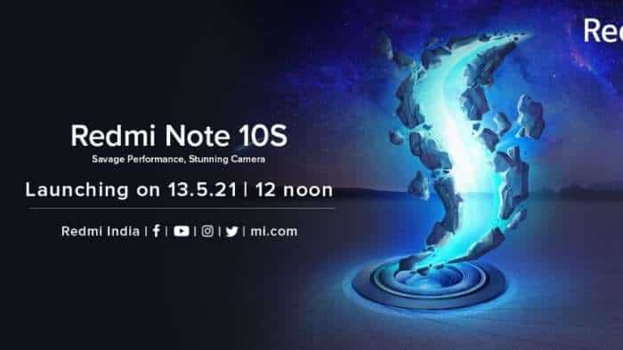 Redmi Note 10S India launch: Stage set! How to watch LIVE streaming, webcast; know expected price, specifications, camera details and more