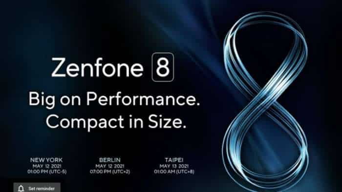 Asus Zenfone 8 series global launch TODAY: Check timings, Livestream link, expected price, specifications and more