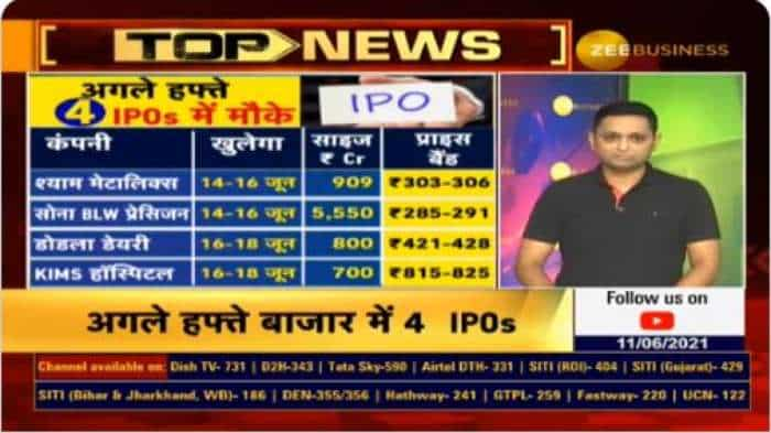 IPO Watch – Rs 8000 cr to be raised from these 4 public issues next week – Shyam Metalics, Sona BLW, Dodla Dairy, KIMS Hospital; Here are FULL DETAILS