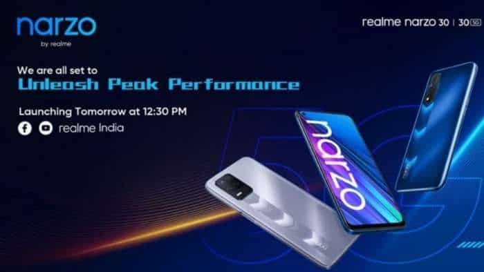 Realme Narzo 30 4G, Narzo 30 5G, Buds Q2, 32-inch TV Smart TV India launch TODAY: Check LIVE streaming details, price, and specs