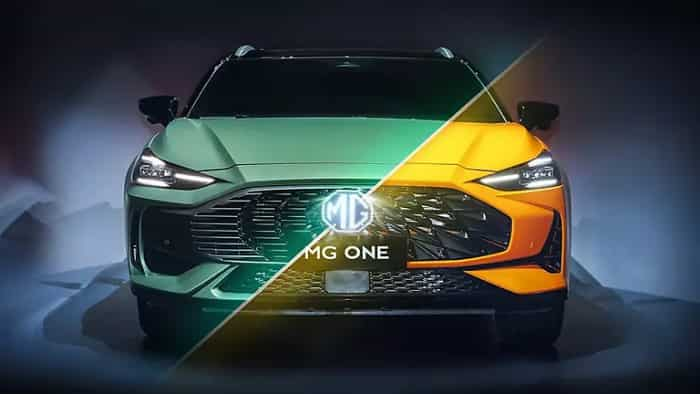 MG Motors' new SUV MG ONE UNVEILED! Check design, colour, technology and more