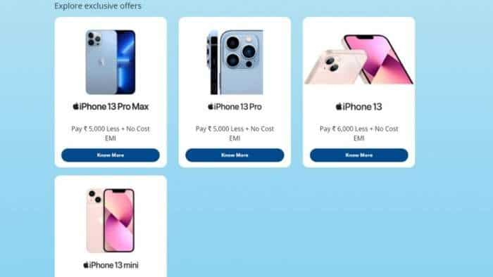 Apple iPhone 13 series: HDFC Bank is offering up to Rs 6,000 cashback - Check details of different variants