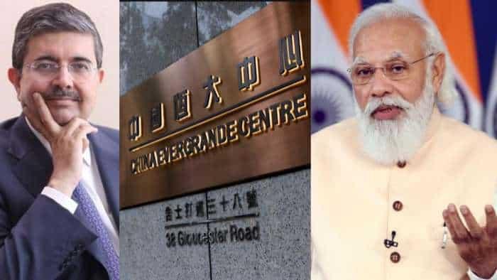 Evergrande Crisis: China's Lehman moment, says Uday Kotak; praises Modi government's action on  IL&FS matter