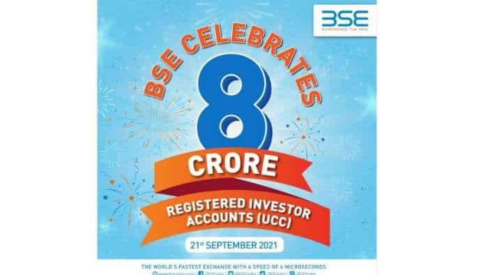 BSE crosses 8 cr registered users, Investor's wealth grow by over Rs 67 lakh cr in 2021; Maharashtra, Gujarat, Uttar Pradesh top contributors