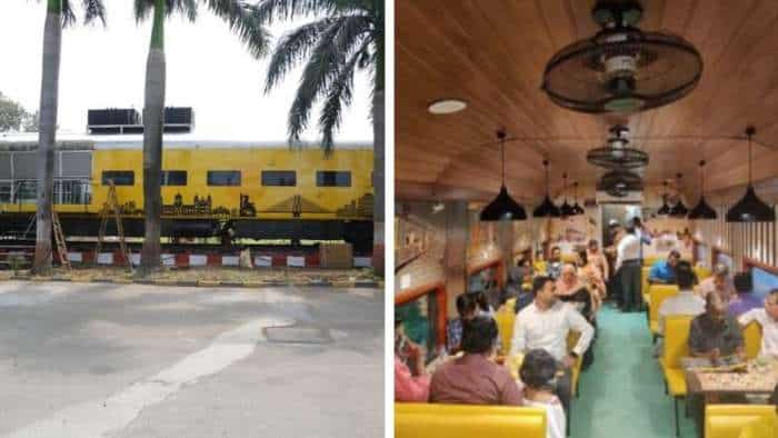 In pics: Central Railway sets up 'restaurant on wheels'; check location, cuisine, accommodation and other details