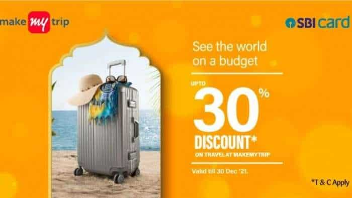 Planning your next holiday? Avail up to 30% discount on flight, hotel bookings on MakeMyTrip with SBI credit card – check details here