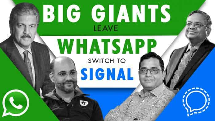 Huge shock to WhatsApp as big giants switch to Signal - know who they are!