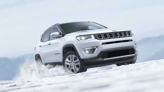 Jeep Compass SUV hits this big mark in India