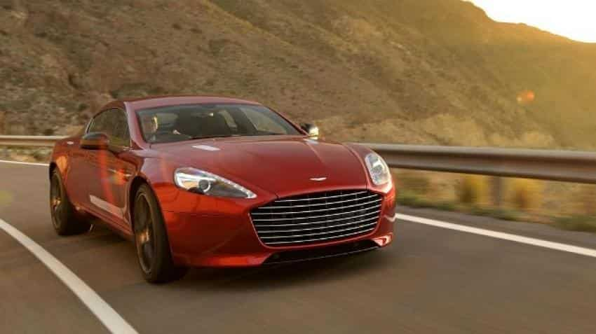 Aston Martin launches new Rapide at Rs 3.29 crore