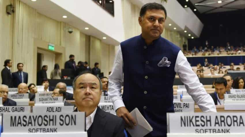 SoftBank slams bid to unseat founder's heir apparent Nikesh Arora