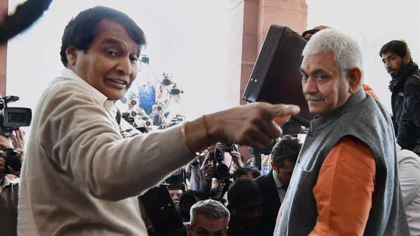 Suresh Prabhu initiates steps to boost Indian Railways