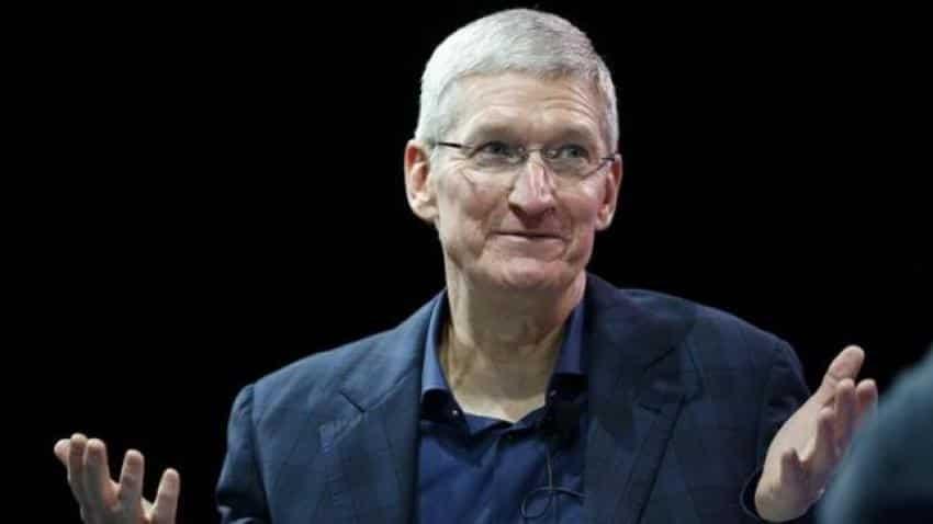 The slide has just begun for Apple
