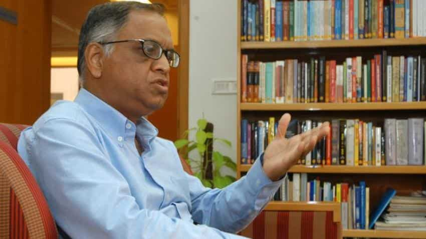 Here's what Infosys' Narayan Murthy said to his daughter in this emotional letter