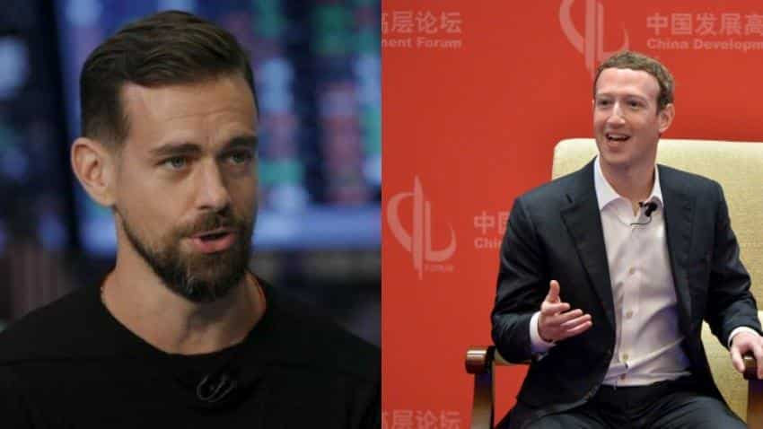 Zuckerberg wins more 'likes' at Facebook, while skepticism over Dorsey's Twitter strategy grows