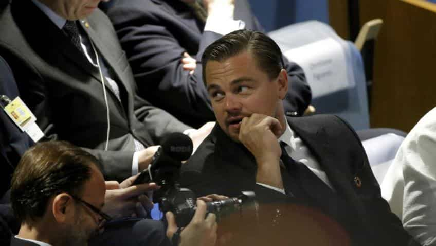 DiCaprio joins advisory board of beverage company