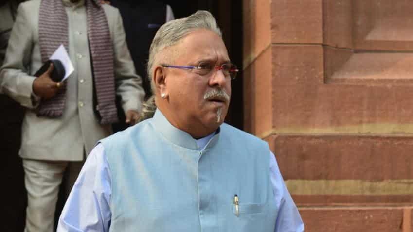 Rajya Sabha Chairman Hamid Ansari accepts Vijay Mallya's resignation
