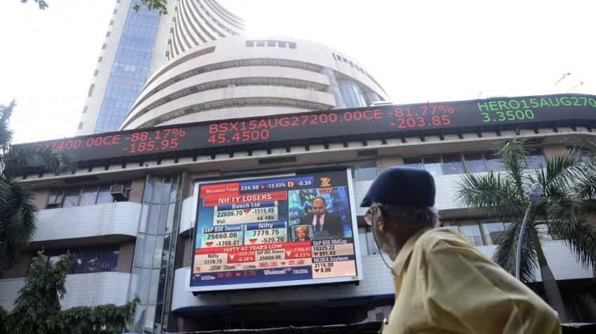 Indian markets open negative; Sensex down 148 points