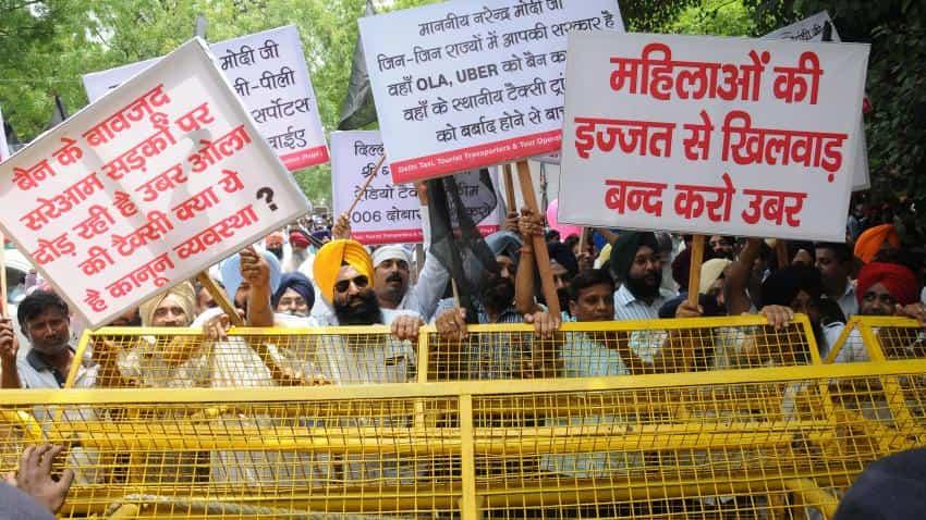 Ban Ola, Uber completely in Delhi NCR, demands AAP