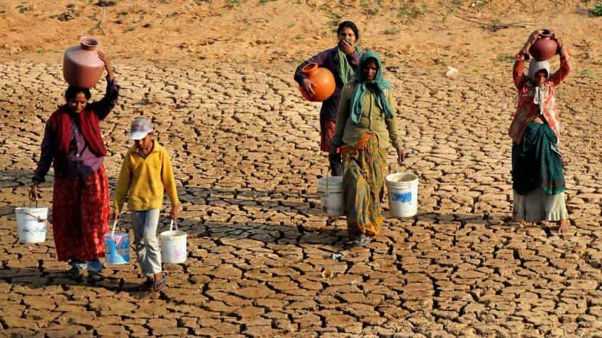 266 districts in 11 different states are drought affected in 2015-16
