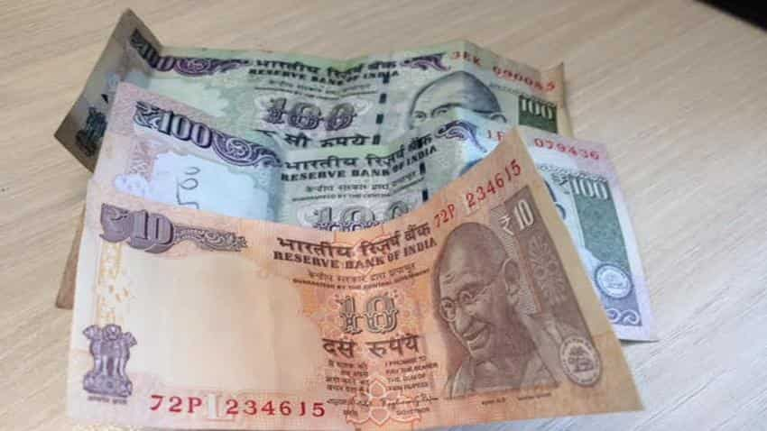 Rupee trades lower by 12 paise against dollar in early trade