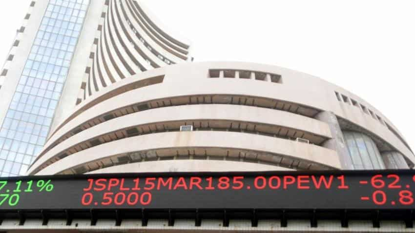 Markets trade in negative, BSE down 45 points