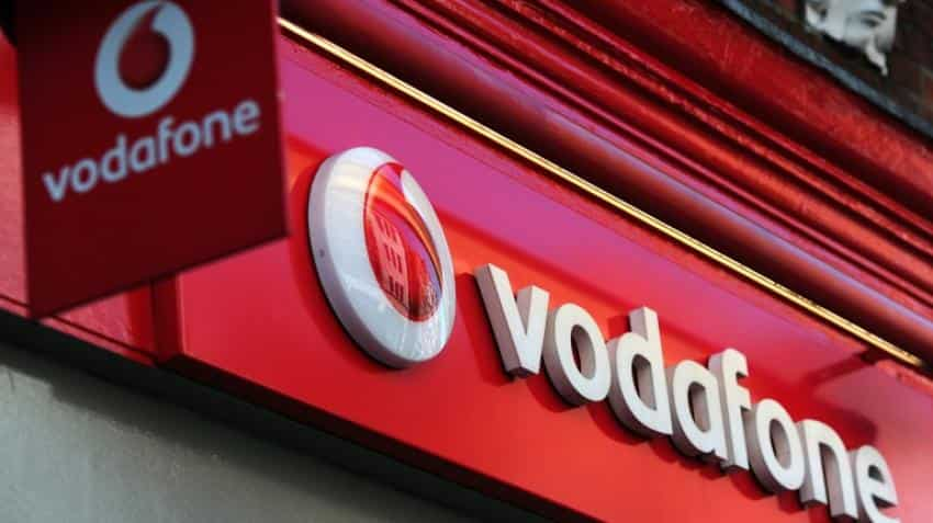 Vodafone logs first annual growth in eight years