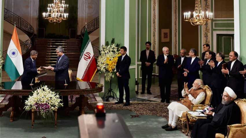 Here's a list of 12 agreements India and Iran signed