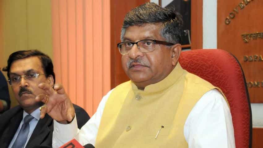 Government, TRAI keeping close watch on call drops: Ravi Shankar Prasad