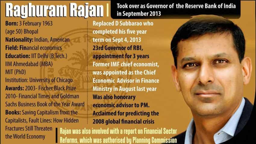 Raghuram Rajan: An Infographic