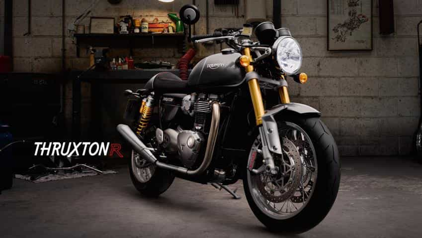 Triumph launches Thruxton R priced at nearly Rs 11 lakh