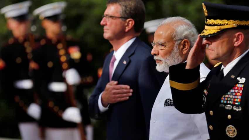 PM Modi at Arlington Memorial, pays homage to Kalpana Chawala