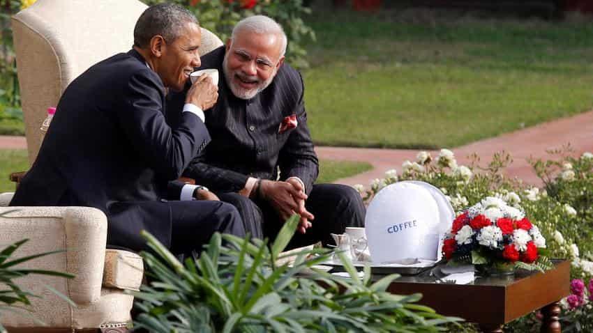 All in a day's work; Narendra Modi in USA