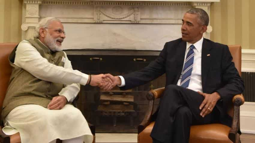 PM Modi, Obama promise to work together for global peace