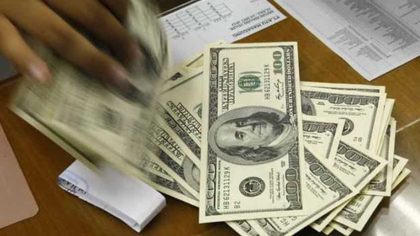 US dollar up 0.41% in late trading on upbeat jobless data