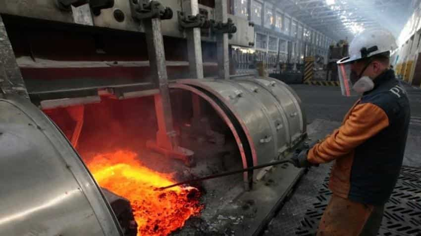 Industrial output plunges in April