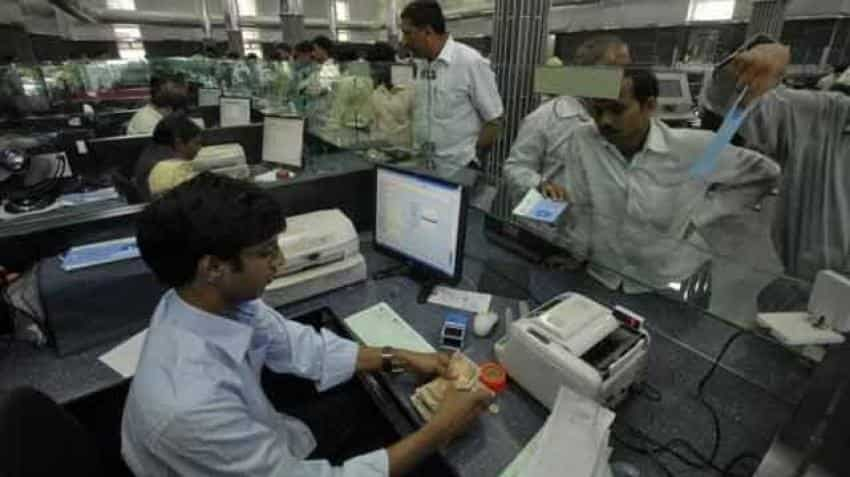 PSBs show decline; pharma, steel firms rise on advance tax front