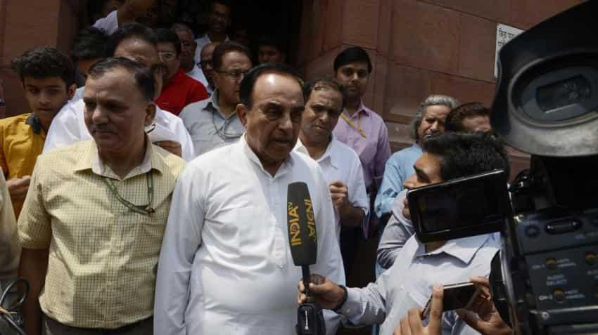 Abolish income tax to push economic growth, says Subramanian Swamy